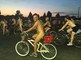 PDX Naked Bike Ride